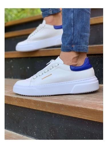 Chekich CH092 GBT Erkek Ayakkabı BEYAZ / MAVı Renkli